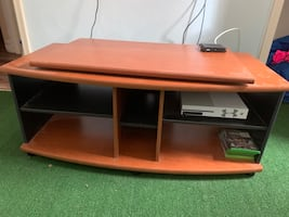 Solid tv stand