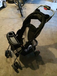 baby's black and gray stroller Hillsborough