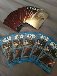 5 new packs of star wars cards and some misc.cards Langley, V3A
