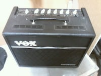 black and gray Vox guitar amplifier Winnipeg, R3T