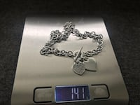 Solid sterling silver necklace  a beautiful piece, total weight 141 grams purchased for over $900 u.s  great mother's day gift idea ~ Surrey, V4N 6A2