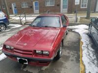 red Renault 9 Broadway sedan Toronto, M5N