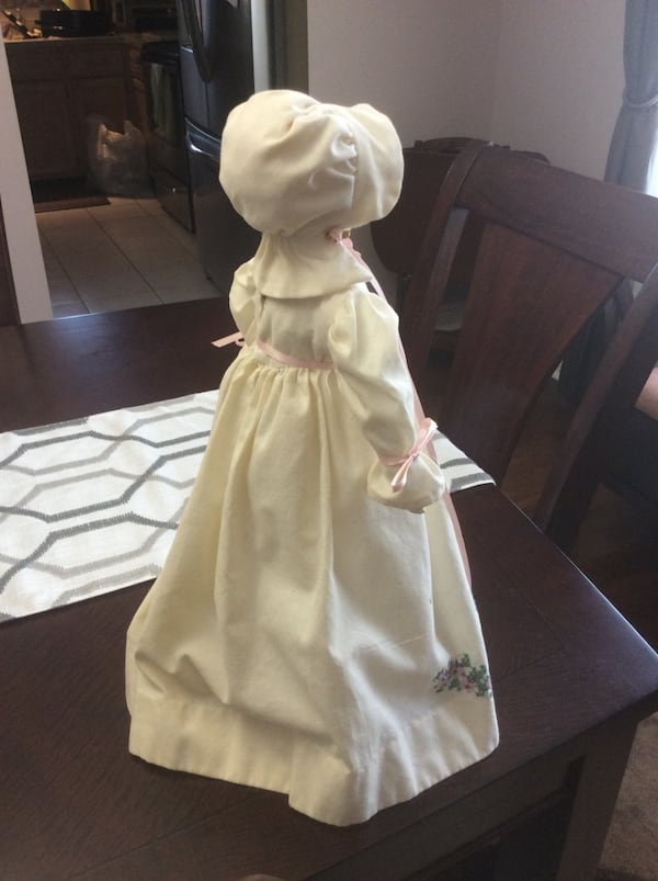 Cloth Doll with Stand 47c4e600-6a32-4867-bef8-885b30769d6c