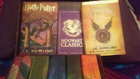Harry potter hard cover book collection Donna, 78537