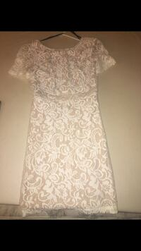 Forever 21 beige and cream dress!