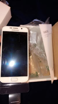 New White samsung S6 AnyCarrier Anchorage, 99503