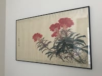 Chinese Flower Painting / 麦仲文Mai Zhongwen 萨里, V4A