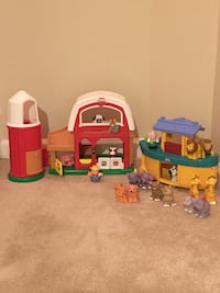 2 Fisher Price Little People Sets—Noah's Ark & Old MacDonald's Farm Vienna, 22180