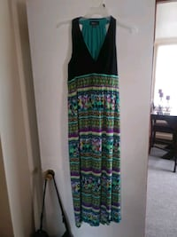 ankle-length summer, spring, early fall dress
