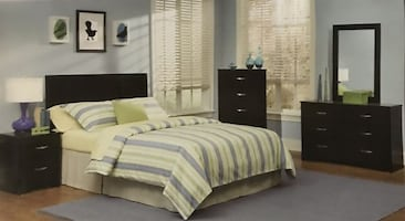 Twin - Full - Queen - 5 piece bedroom sets