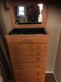 Jewelry armoire! Pristine condition has so much storage and space  Los Angeles, 91401