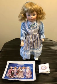 Porcelain Doll Classique Collection London, N6E 1G2