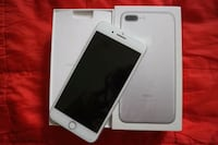 silver iPhone 8 with box 819 mi