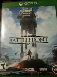 Star Wars Battlefront Xbox One game case Livonia, 48154