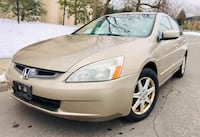 2003 Honda Accord Leather Sun roof ' Clean Title College Park