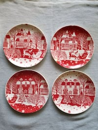 Christmas dinner plates Lake Forest, 92630
