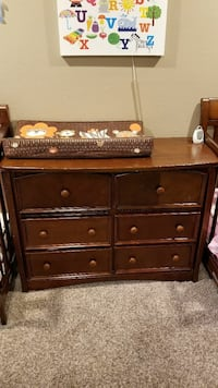 Simmons Slumber Time Elite Double Dresser Espresso