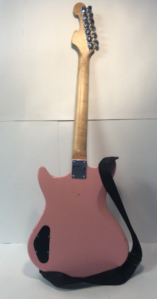 Used First Act Me4018 Pink Electric Guitar With Flames 6 String Works Excellent Cond For In Poughkeepsie Letgo