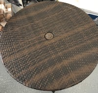 round brown wicker table top Mableton, 30126