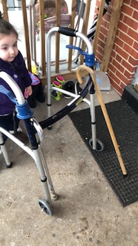 Walker & 2 canes -GREAT condition  Baltimore, 21224