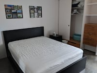 Ikea Queen Bed and Mattress null