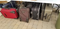 two brown and black luggage bags Laval, H7M 4N8