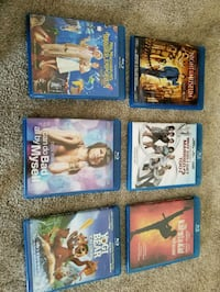 6 Blu-ray movies ($30 for all) Calgary, T3K