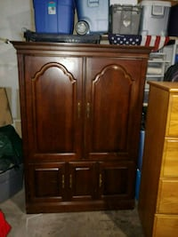 brown wooden cabinet with cabinet Las Vegas, 89143