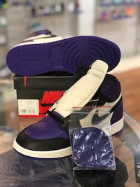 Brand new Court purple 1s size 7 Silver Spring, 20902