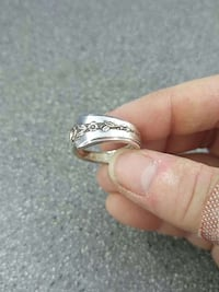Sterling silver spoon ring Fostoria, 44830