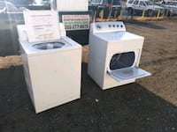 Washer and dryer works good Whirlpool heavy duty free delivery 6-month Capitol Heights, 20743