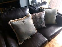 Fake leather I believe loveseat Burnaby, V5A 4V2