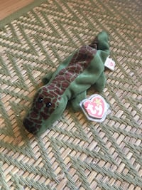 """Ty Beanie Baby """"Ally"""" the Alligator Retired Rare Los Angeles, 90064"""