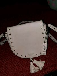 white and brown leather handbag Denver, 80221