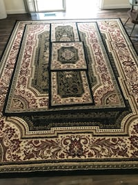 Brown and black rug set Woodbridge, 22193