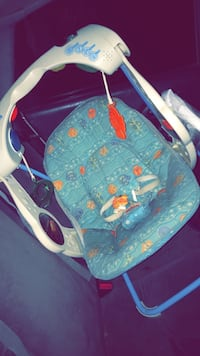 baby's blue and pink bouncer Atwater, 95301