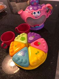 Leapfrog musical tea set fun