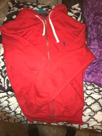 Red polo hoodie Ralph Lauren  Maple Valley, 98038