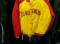 yellow and red Los Angeles Lakers zip-up jacket Brooklyn, 11205