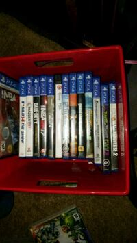 assorted PS4 game cases Chilton, 53014