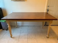 Pier 1 imports rustic dinning table 2401 mi