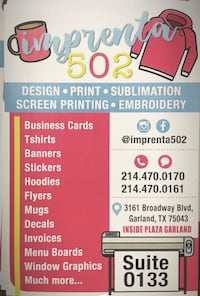 Graphic design Carrollton, 75006