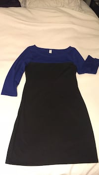 blue and black long-sleeved dress Milton, L9T 8C1
