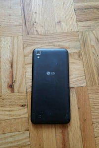 black LG android smartphone with box Toronto, M4L 3B9