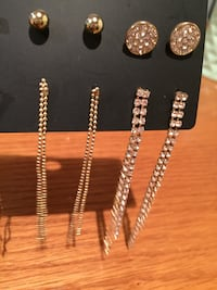 All accessories from Ardene (rings earrings,bracelet ,hair accessory London, N5Y 4K5