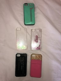 IPHONE 5/SE PHONE CASE BUNDLE ALL FOR $20 includes marc jacobs original cass Toronto, M6H