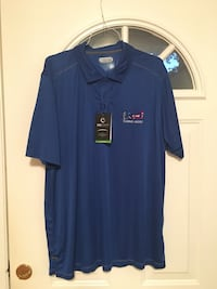 *New w/tags Maryland Live! Casino Hotel blue 2XL short sleeve polo Rockville, 20853