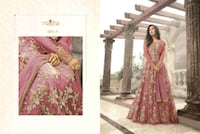 women's pink and gold floral long-sleeved dress Ludhiana, 141008