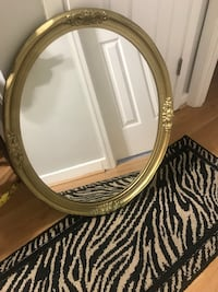 Gold framed mirror Arlington, 22204
