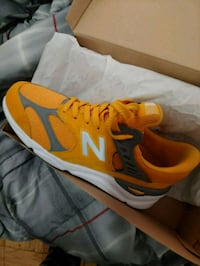 pair of orange-and-gray New Balance sneakers Cheverly, 20785